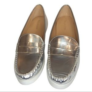 WANTED Silver Loafers Size 8.5